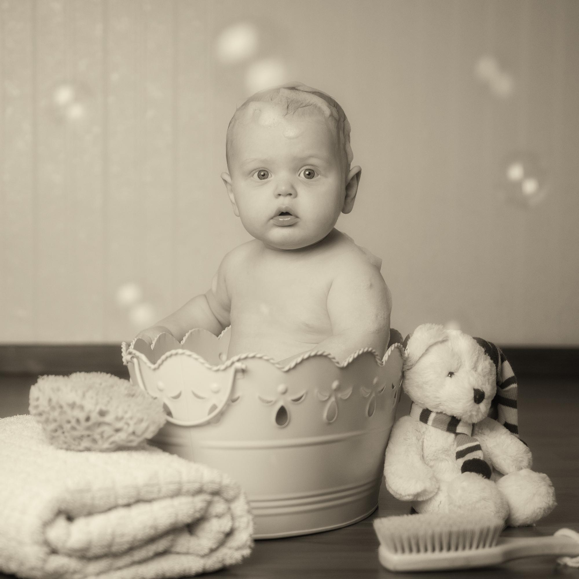 stilvolle Babybilder