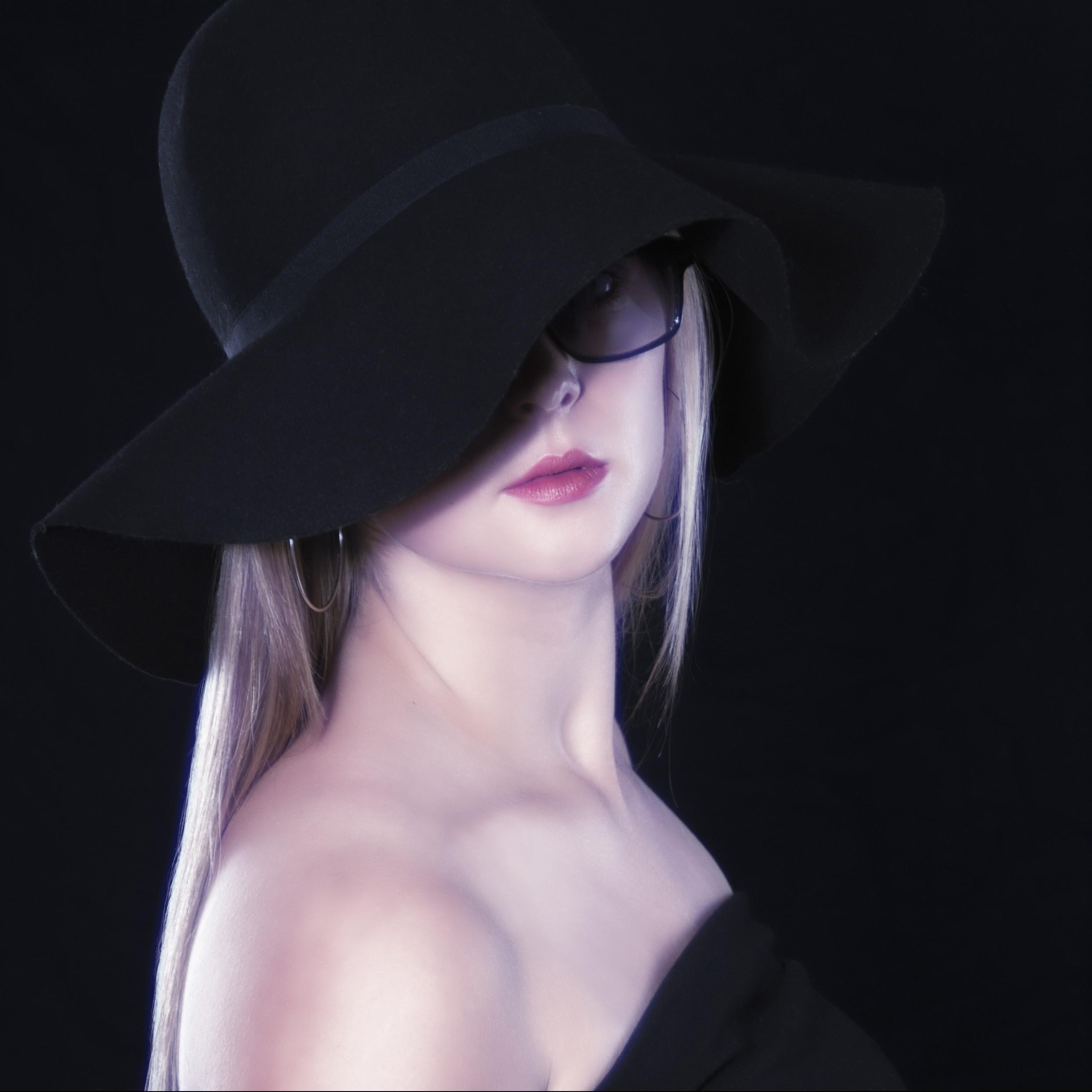 Frauenportrait, Einzelportrait, moderne Fotografie